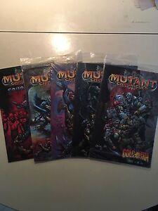 Mutant-Chronicles-Golgotha-1-4-Sourcebook-Comic-Set-Mint-Sealed-Doomtrooper-card