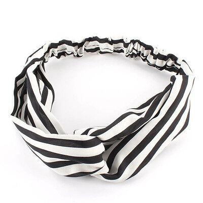 Fashion Women Girl Yoga Elastic Turban Floral Twisted Knotted Hair Band Headband