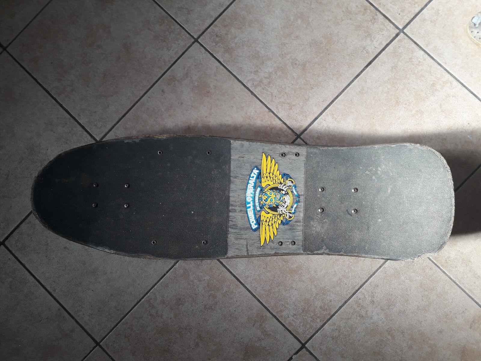 Rare skateboard used Nicky Guerrero Powell Peralta trucks gullwing year 1980 90