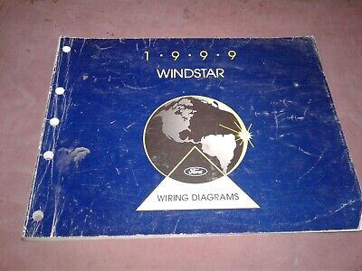 1999 Ford Windstar Electrical Wiring Diagrams Manual   eBay