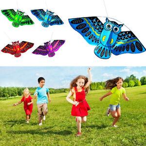 3D-Owl-Kite-Toy-Girls-Boys-Kids-Beach-Fun-Outdoor-Flying-Activity-Game-Children