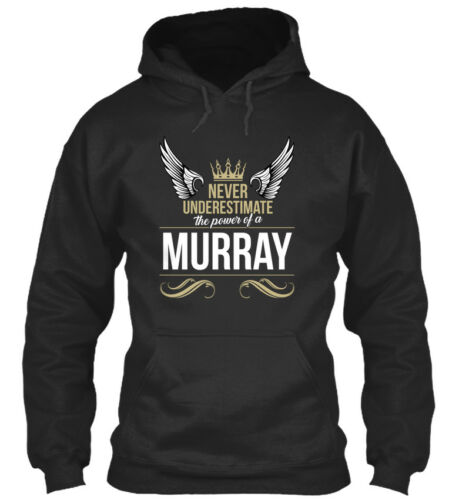 Murray Never Underestimate Heather The Power Of A Standard College Hoodie