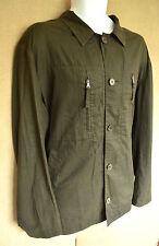 HUGO BOSS khaki green Men's Summer Jacket size 52 parka
