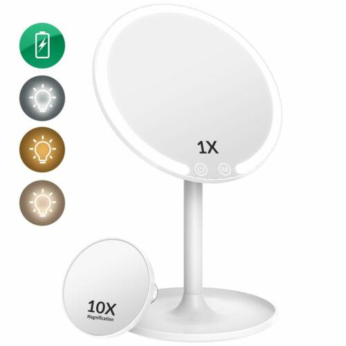 Easehold Lighted Makeup Mirror, Led Makeup Mirror Vanity