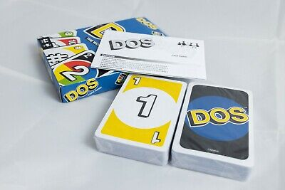 Mattel Games UNO DOS Card Game Brand New Perfect Family Gift