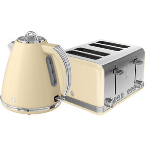 Swan-STP7041CN-Retro-Kettle-and-Toaster-Set-Cream