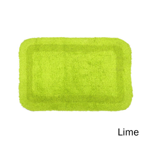Pure Cotton Reversible Bathroom Floor Bath Mat 40 x 60 cm 6 Color Choice