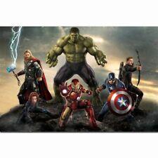 The Avengers Superhero Movie Hulk Iron Man Thor Joker Poster Wall Decor X-589