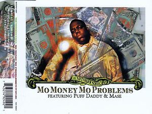 THE-NOTORIOUS-B-I-G-MO-MONEY-MO-PROBLEMS-5-TRACK-CD-ARISTA-PUFF-DADDY-1997