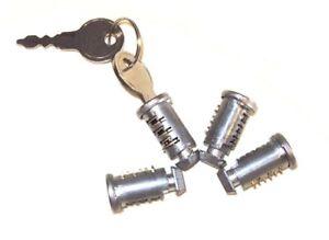 4 schlie zylinder 2 schl ssel f r dachtr ger original ebay. Black Bedroom Furniture Sets. Home Design Ideas