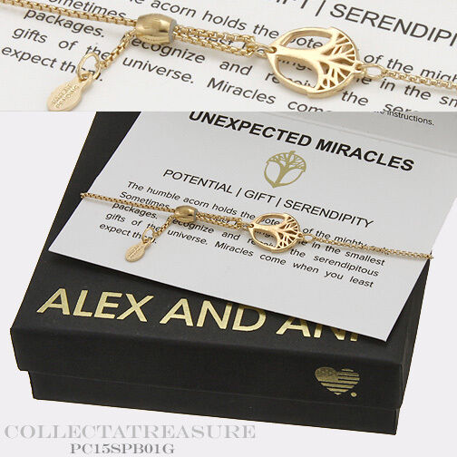 Authentic Alex and Ani Providence Unexpected Miracles 14kt gold plated Bracelet