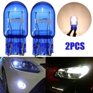 2x-T20-7443-W21-5W-R580-Halogene-DRL-Clignotant-Frein-Arret-Feu-Ampoules-Lampes