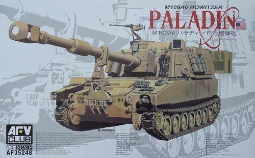 AFV CLUB M109A6 HOWITZER PALADIN 1 35 35248