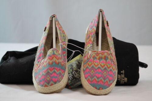 """ROXY /""""IRIS/"""" SLIP-ON SHOES//FLATS WITH AZTEC GRAPHICS size 6//9"""