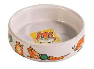 Crema-tazon-de-ceramica-para-pequenos-animales-HAMSTERES-JERBOS-ratones-8cm-90ml