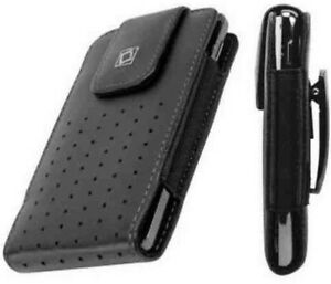 Leather-Vertical-Pouch-Case-with-Fixed-Swivel-Pocket-Belt-Clip-for-HTC