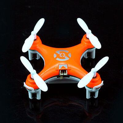 Hot Sales Cheerson CX-10 Mini 2.4G 4CH 6 Axis LED RC Quadcopter Airplane Orange