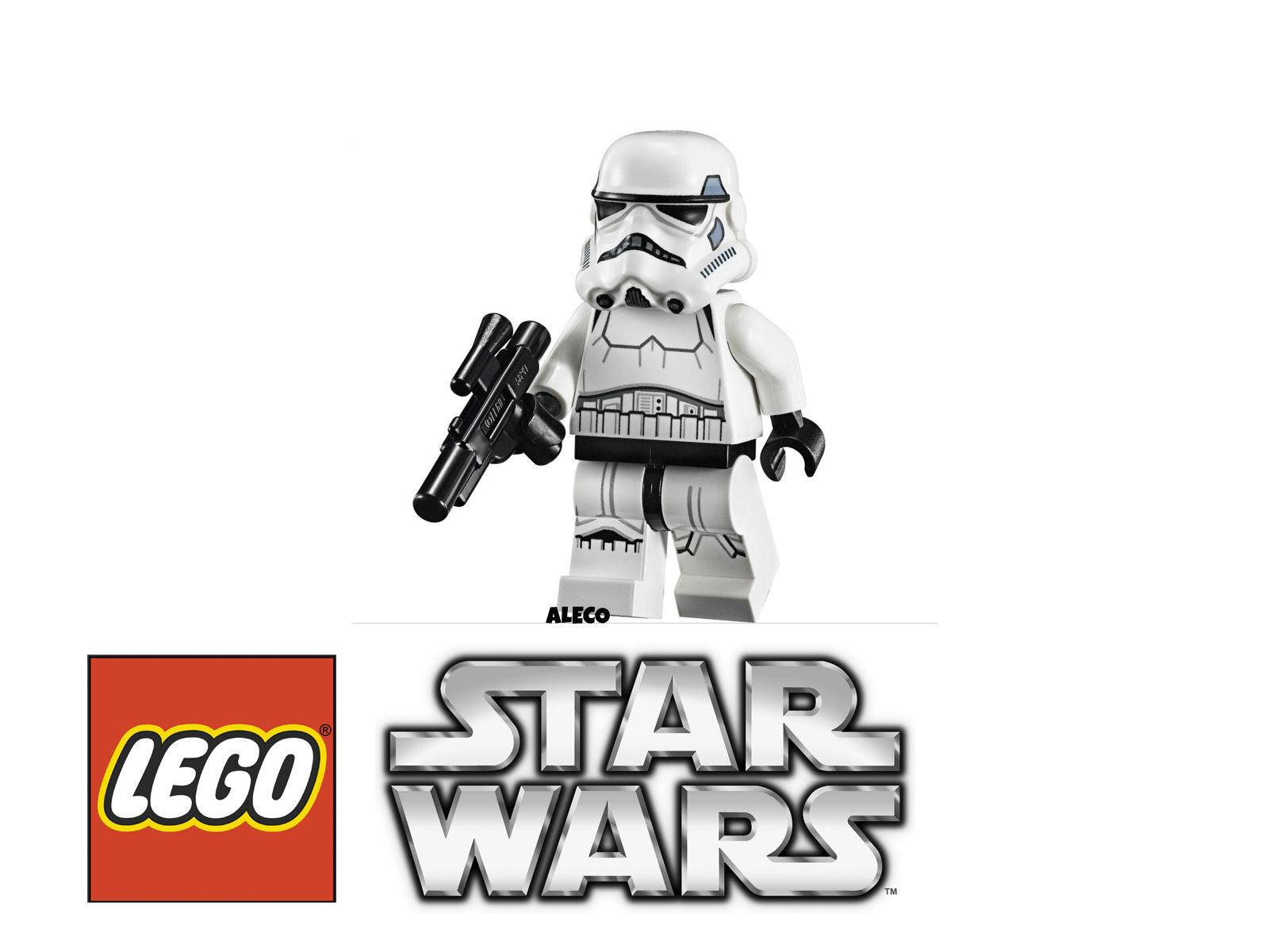 LEGO STAR WARS Stormtrooper Minifigure Minifigura 75055 75060 75060 75060 NUEVO / NEW 0689ec