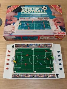 Tomy-Super-Cup-Football-Boxed-Working-amp-In-Good-Condition