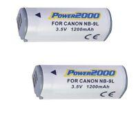 2 Nb-9l Batteries Nb-9l For Canon Sd4500 Is Elph 510 Hs Elph 520 Hs 530 Hs