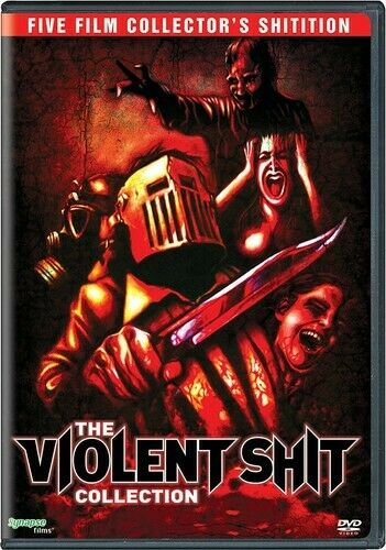Violent Shit 5 Film Collection: 1 / 2 / 3 / 4 / 5 (3 Disc) DVD NEW