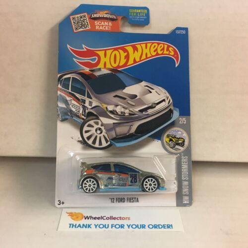 /'12 Ford Fiesta #157 WH4 2016 Hot Wheels ZAMAC