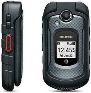 Kyocera DuraXE At&t Débloqué 4G Gsm 32GB Robuste Portable Clapet Téléphone