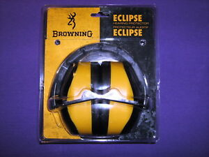 Browning Hearing Protector Eclipse Yellow And Black - 12684