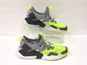 wholesale dealer cc20d 6a482 Image is loading Nike-Air-Huarache-Drift-Breathe-Wolf-Grey-Volt-