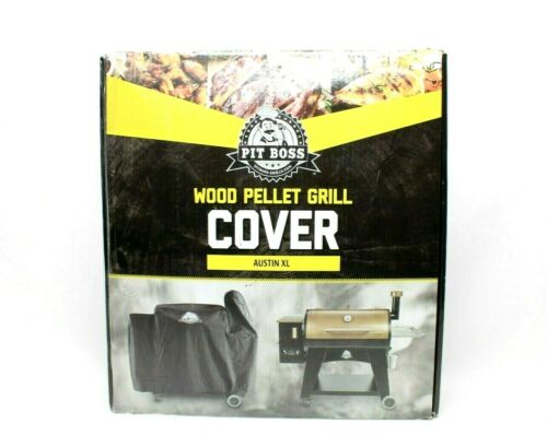 Pit Boss Wood Pellet Grill Cover Austin XL Black Weatherproof Barbecue Cover New
