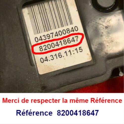 frein a main electrique Scenic 2 phase 1  complet  8200418647  frein de parking