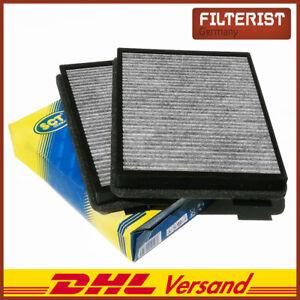 Espacio-interior-filtro-2er-polen-filtro-de-carbon-activado-sct-sak105-para-bmw-e39-5er