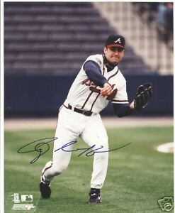TONY GRAFFANINO ATLANTA BRAVES SIGNED 8X10 PHOTO W/COA