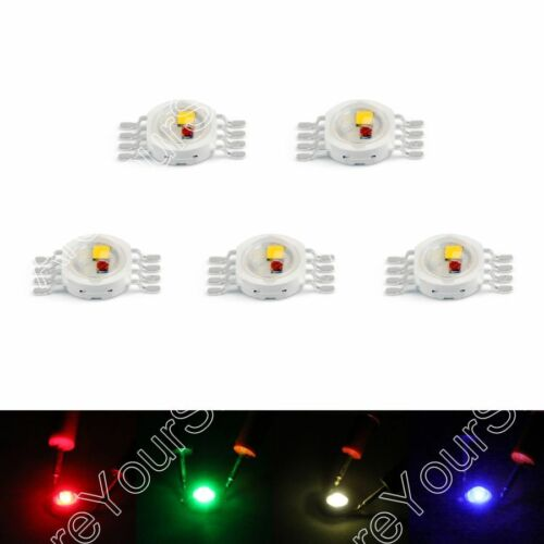 5W LED Beads Leuchtdioden Hohe Power Chip Whi Rot Blu Grn IR Spectrum F3