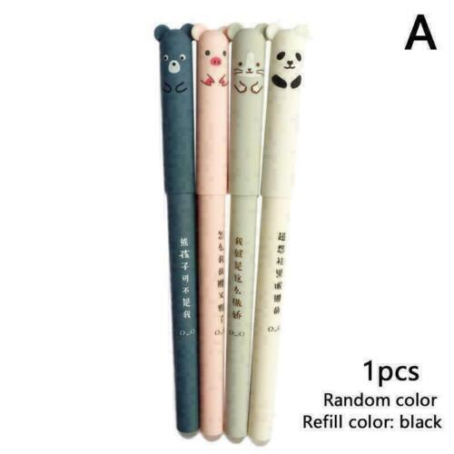 Niedlichen Tier Panda Maus löschbaren Gel Ink Pen 0 Gel Schulmate 35 Pen mm N1T6