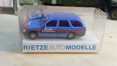 1/87 Rietze Ford Escort Station Wagon Fonte Wohnberatung