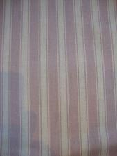 104cm SANDERSON Tiger Stripe lavender/lilac cotton curtain fabric remnant