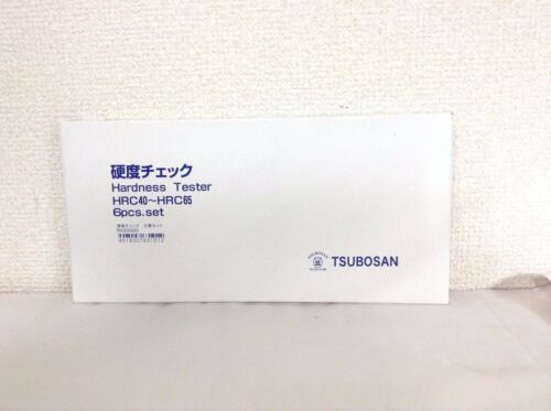Tsubosan MA00600 HRC40-HRC65 Set Dureté Testeur Lime de Japon F//S