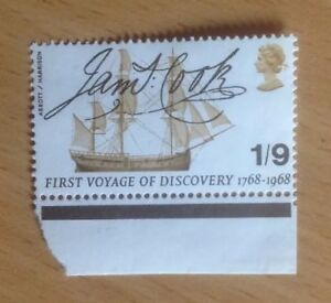 GB James Cook First Voyage of Discovery 1s 9d  1968 unused NH UK - Swindon, United Kingdom - GB James Cook First Voyage of Discovery 1s 9d  1968 unused NH UK - Swindon, United Kingdom