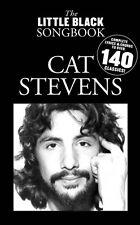Cat Stevens The Little Black Songbook Sheet Music Lyrics Chord Symbols 014019179
