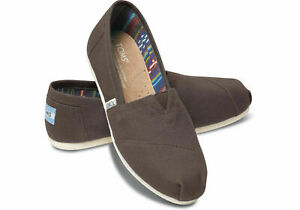 75afc85b954 Image is loading Authentic-Womens-Toms-Classic-Canvas-Slip-Ons