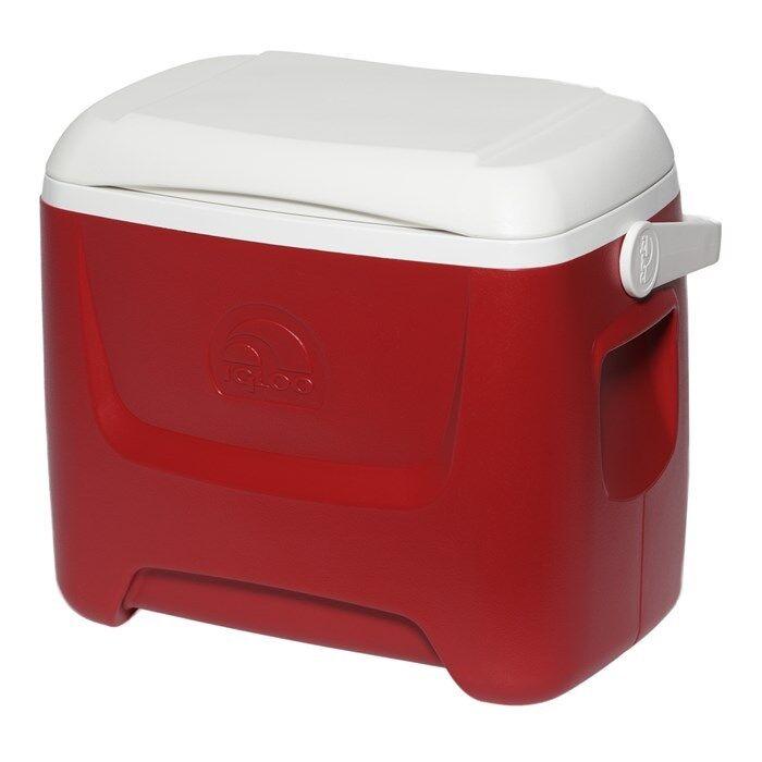 Eisbox litres, – Glacière 26 litres, Eisbox Original Igloo Island Breeze 28 Rouge/Blanc 2d9ea8