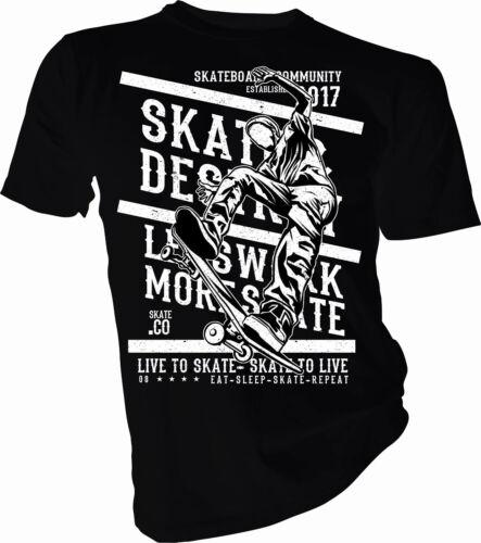 Free Style Skate Destiny Skating Adult /& Kids T-Shirt Skateboard