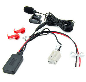 Bluetooth-Adapter-Aux-Mercedes-Audio-20-50APS-Comand-Musik-Freisprecheinrichtung