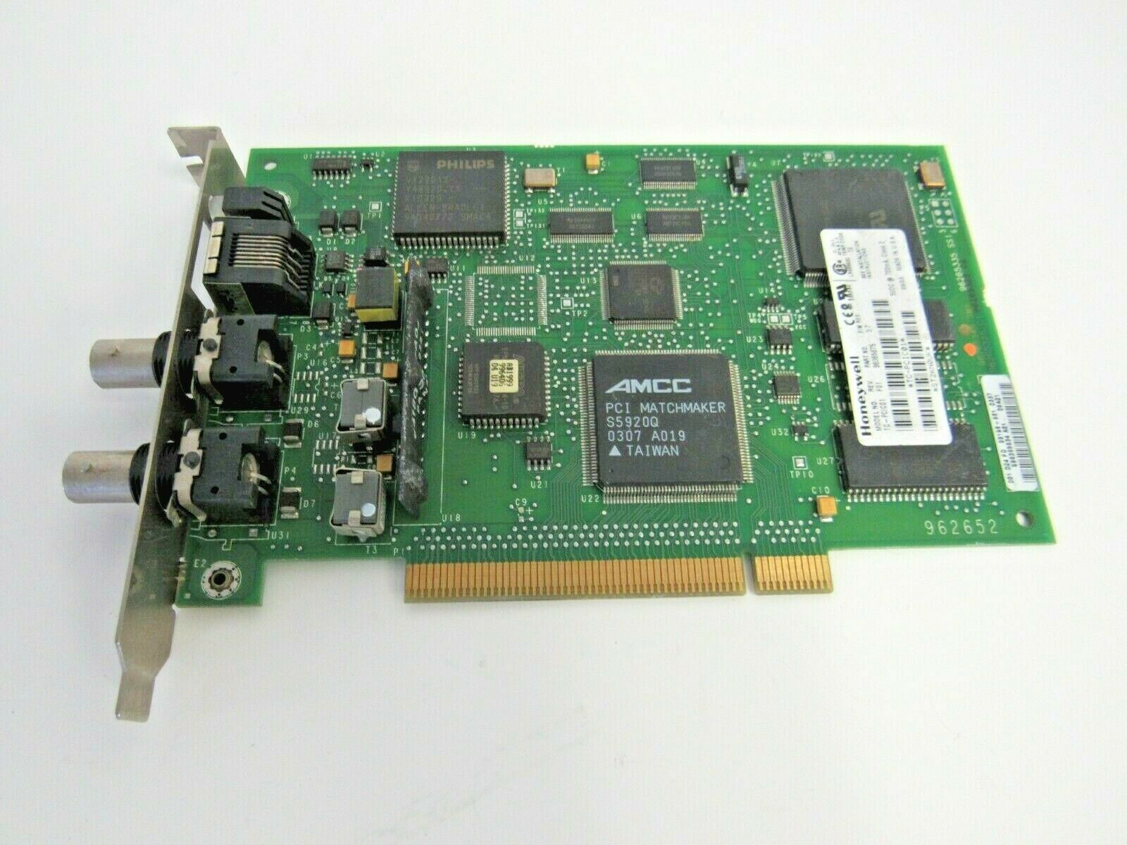 Honeywell TC-PCIC01 REV-F01 FW-3.7 PCI ControlNet Interface Network Card 9-3