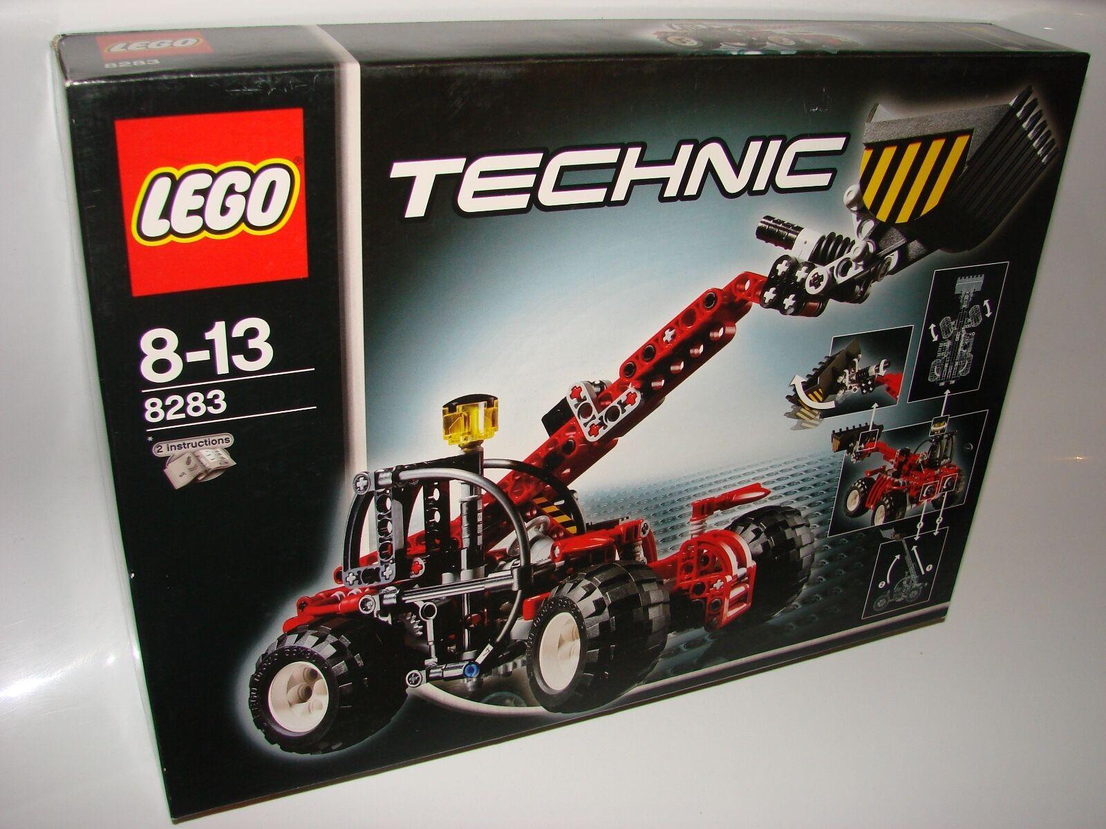 Lego  ® Technic 8283 telescopic loader nouveau OVP _ Telehandler nouveau MISB NRFB  se hâta de voir