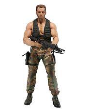 """Predator - 7"""" Scale Action Figure - 30th Anniversary Jungle Encounter Dutch NECA"""