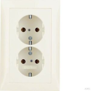 Berker-Double-Socket-WS-Glossy-with-Cover-Plate-47548982