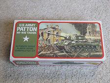 Vintage - 1971 Lindberg- Patton M-46 Tank - Model Kit #6080