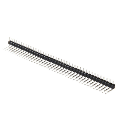 17Pcs 40Pin 2.54mm Single Row Right Angle Pin Header Streifen Arduino kit